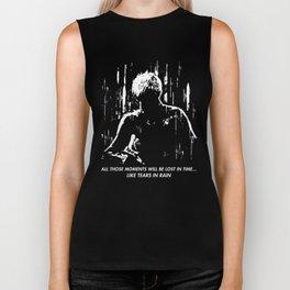 Blade Runner - Like Tears In Rain Biker Tank