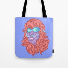 Bug Eyed Breather Tote Bag