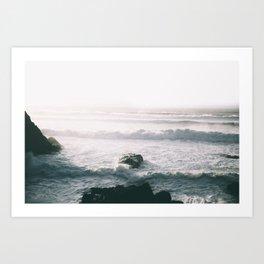 Waves VI Art Print