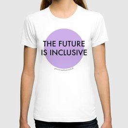 The Future Is Inclusive - Purple T-shirt