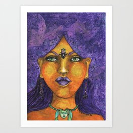 Gypsy Goddess Art Print
