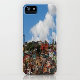 Colorful City iPhone Case