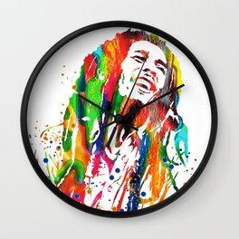 Marley poster Wall Clock