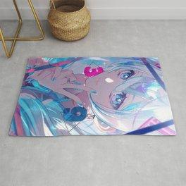 Hatsune Miku Vocaloid Rug