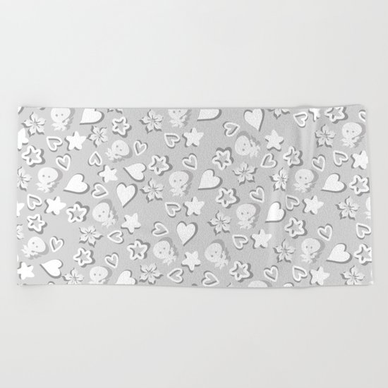 Lovely pattern Beach Towel