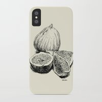 fig iPhone & iPod Cases featuring Fig by Benoit Springer