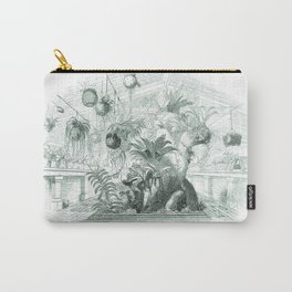 Vintage Botanical illustration, 1837 (Greenhouse) Carry-All Pouch