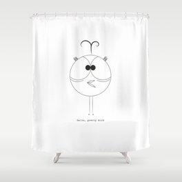 Tweaky Bird Shower Curtain