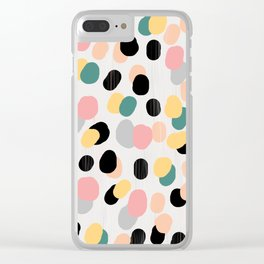 Abstract2 Clear iPhone Case