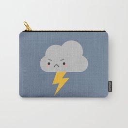 Kawaii Thunder & Lightning Cloud Carry-All Pouch