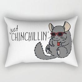 Just Chinchillin' Rectangular Pillow