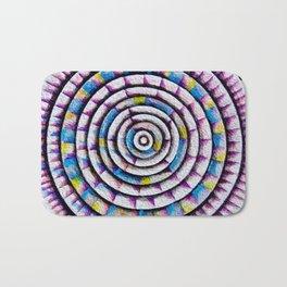12 Rings of Fibonacci Bath Mat