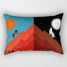 Sun & Moon Rectangular Pillow