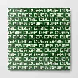 Game Over (i) Metal Print