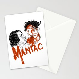 Maniac 1980 Stationery Cards
