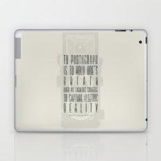 To photograph... Laptop & iPad Skin