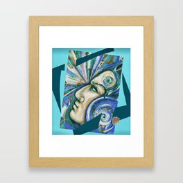 The power of your mind Framed Art Print
