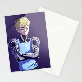 Genos - Purple Stationery Cards