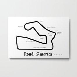 RennSport Shrine Series: Road America edition Metal Print