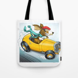 Go Dog Go Tote Bag