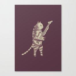 Catstar Canvas Print
