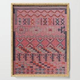 V21 New Traditional Moroccan Design Carpet Mock up. Serving Tray