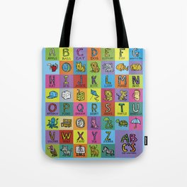 ABC for Wolfgang Tote Bag
