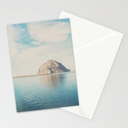 Morro Rock photograph Stationery Cards