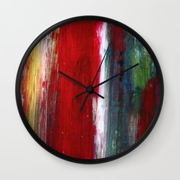 brushing off Wall Clock
