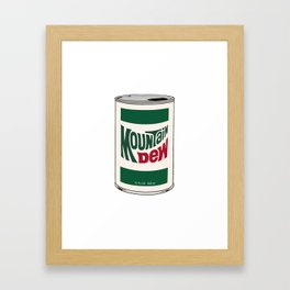 """Pop"" Art, White Background Framed Art Print"