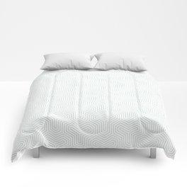 Geometric Y Shaped Pattern Comforters
