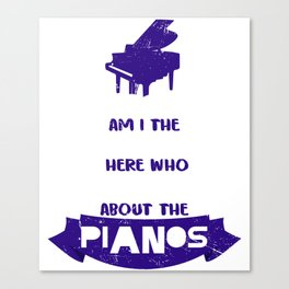 Piano Music Teacher Classical Music Music Teacher Canvas Print