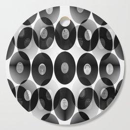 Something Nostalgic II - Black And White #decor #buyart #society6 Cutting Board