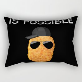 Nuggets Nug Lover Gift  Rectangular Pillow