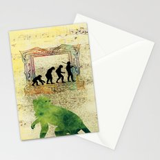 Chinese Lunar New Year and 12 animals  ❤  The MONKEY 猴 Stationery Cards