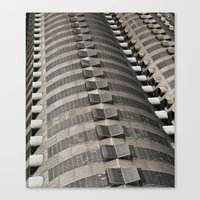 milan Canvas Prints featuring Milan by Podfrog