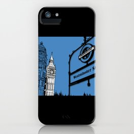 lonDRes cAPitale iPhone Case