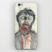 zombie iPhone & iPod Skins featuring Zombie! by Chris Gauvain