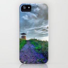 Purple Mountain Majesties iPhone Case