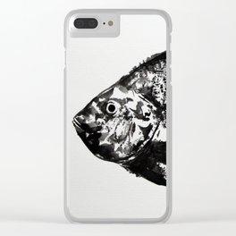 gyotaku - koi fish Clear iPhone Case