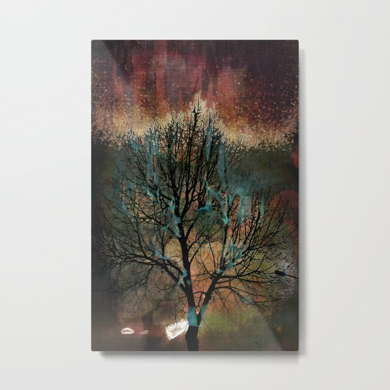 Mystic Tree II Metal Print