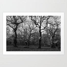 Oak Tree Army Art Print