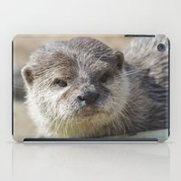 otter iPad Cases featuring Otter by PICSL8