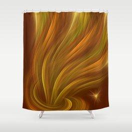 Aladdin effect Shower Curtain