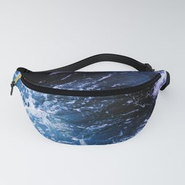 Deep Blue Ocean Waves Fanny Pack