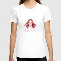 black widow T-shirts featuring Black Widow by Galaxyspeaking