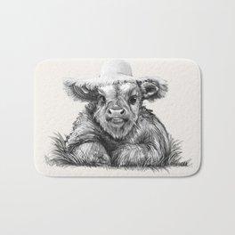 Baby Coo in Cream Bath Mat