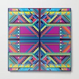 Z.Series.62. Symmetrical  Metal Print