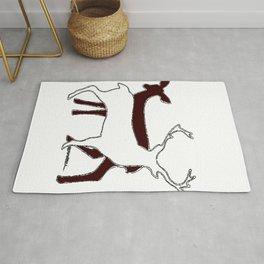 Deer Shadow Rug