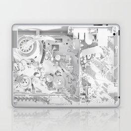 White Gears Laptop & iPad Skin